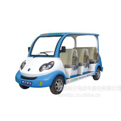 供应四川重庆八座电动观光车、游览车(学校公交观光一体电动车)