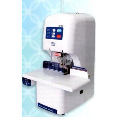 供应NCL NB-308财务凭证档案票据打孔机热熔胶装机装订机
