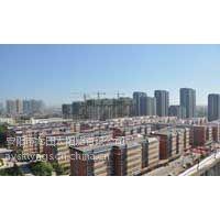 龙田太阳能热水工程之许吴村建筑一体化工程案例