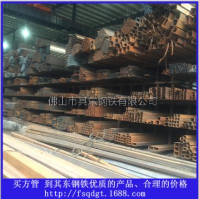 供应广东货架方管 支柱方管 机械方管 建筑方管Q235B方矩管 佛山其东钢铁质优价廉