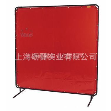 供应威特仕 橙红色高透视防护屏 焊接防护屏 1.74x1.74m  55-6466