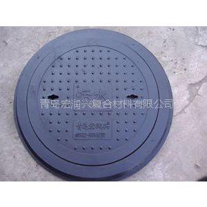 供应供青岛地区  硅塑复合材料井盖