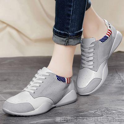 百年纪念女鞋子2015春季新款平底鞋时尚运动休闲鞋潮女学生跑步鞋