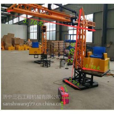 山东济宁三石儿童塔吊 标准全新小塔吊 仿真型游乐设备