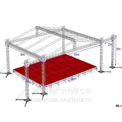 铝合金舞台 舞台架 钢铁舞台 舞台架子 雷亚舞台