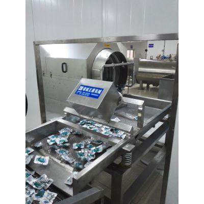 【诸城正康食品机械】常温水包装袋清洗机
