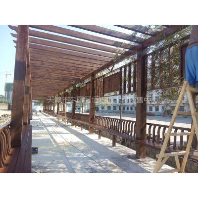 防腐木木业供应批发 防腐木规格料承接防腐木景观工程安装
