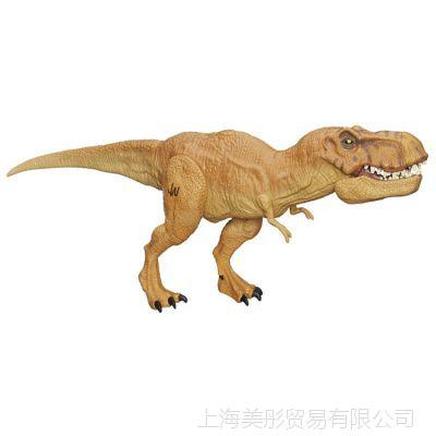孩之宝侏罗纪公园泰坦撕咬恐龙公仔霸王龙模型玩具儿童礼物B1156
