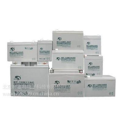 金华市赛特蓄电池BT-HSE-100-6V质保三年 全国免运费