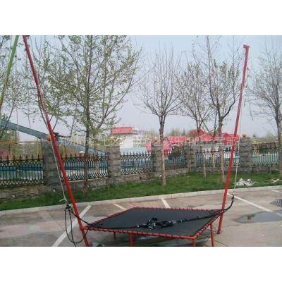供应钢架蹦极跳床 儿童蹦极跳床 儿童蹦极设备 郑州广源游乐设备公司