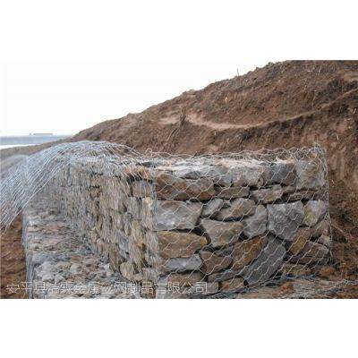 安平洁霖厂家供应镀锌石笼网 格宾网箱 堤坝加固防洪钢丝雷诺护垫网 质优价廉