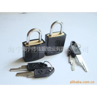 供应包塑铜挂锁 箱包挂锁 小挂锁 新秀丽款 太阳花款