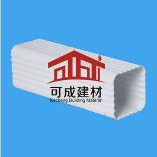 pvc落水天沟厂家、屋面落水管、pvc落水天沟安装 杭州可成PVC成品檐槽