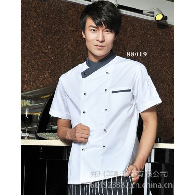 新郑订制厨师服供应笑影服饰酒店装定做、职业装现货批发及定制