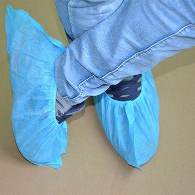 深圳厂家供应无纺布鞋套,一次性无纺布防滑鞋套
