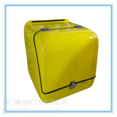 精源粲供应玻璃钢质披萨外送箱 邮政速递箱 送报箱 食品外卖箱 保温箱