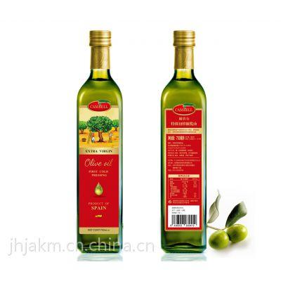 CAMBELL橄倍尔特级初榨橄榄油750ml
