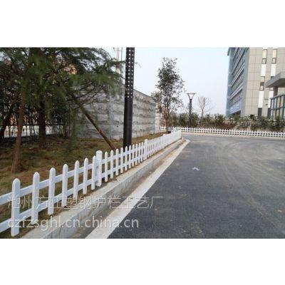 供应安徽淮北PVC草坪护栏绿化带护栏花坛围栏