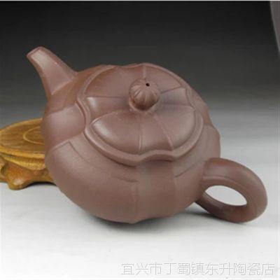 宜兴原矿紫砂壶 厂家直销 150毫升锦囊壶 可印logo  来样定做
