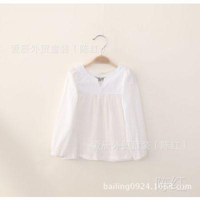 cy15-096 小V领女款健康棉速干白衬衫