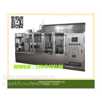 供应小型牛奶纸盒灌装机屋顶盒包装机BW-1000B北亚专业