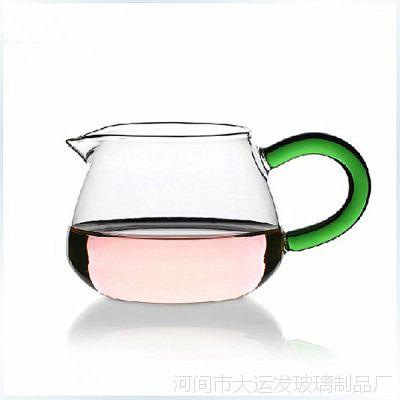 批发采购耐高温玻璃公道杯 大玉雅 茶海 加厚 分茶器 功夫茶具