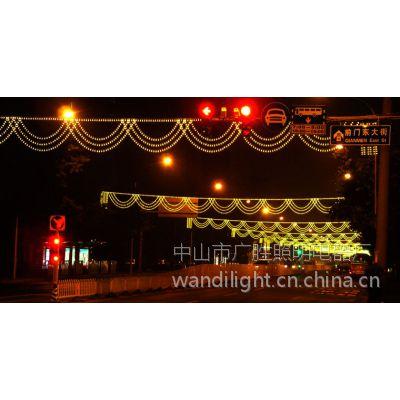 广万达销挂路灯杆动感LED跨街灯、低价销LED过街灯