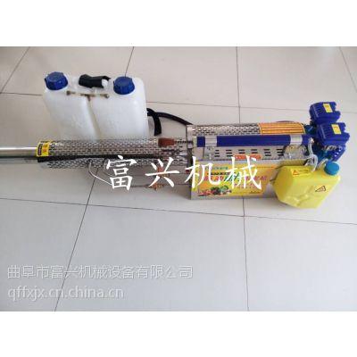 背负式农用小型弥雾机 富兴高效率打药机 大功率烟雾机