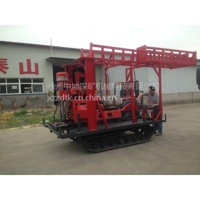 徐州中地钻探机定制GXY-200B型塔泵一体式履带钻机、钻机履带式改装
