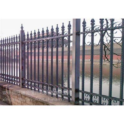 厂家直销 高档 小区围墙铁艺护栏 厂区铁艺护栏 喷塑铁艺护栏