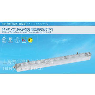 防爆荧光灯BAY81-QT 36*2 平台井架专用灯 CCS船检 230V电压 220v电压