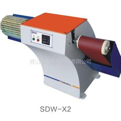 森德威圆柱砂光机可调速砂光机变频砂光机双头打磨机平面抛光机砂带木棒砂光机木工机械加工设备砂光设备