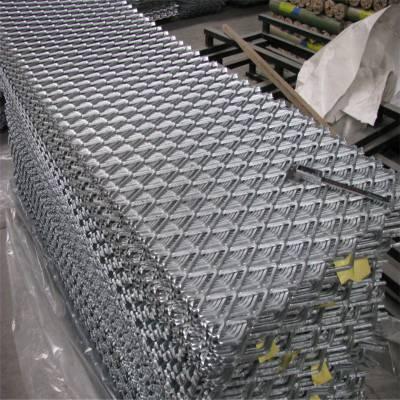 铝板网菱形孔 菱形孔铝板网 护栏网便宜