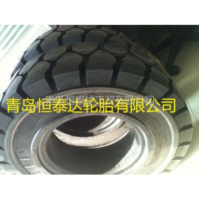 供应叉车拖车实心轮胎 6.50-16