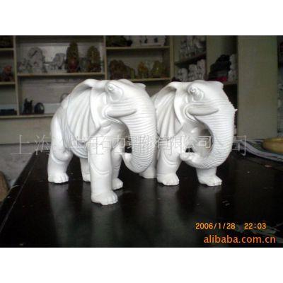 供应汉白玉石雕工艺品  石雕大象 精品大象