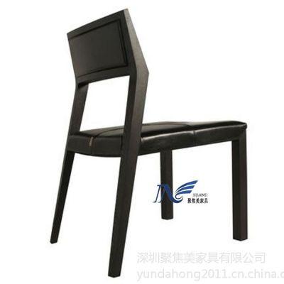 供应实木西餐椅|西餐厅椅子|西餐厅桌椅子|定做西餐厅桌椅 聚焦美餐饮家具厂家