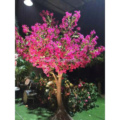 厂家直销仿真梅花树 真杆造型梅花树 高档绢花