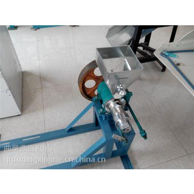 厂家专业制造膨化机 小型食品专用谷物膨化机 鼎信