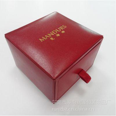 皮质首饰盒、抽屉式首饰盒定制