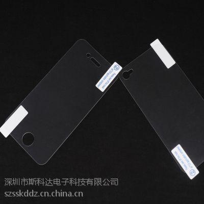 斯科达厂家直销单层pet亚克力胶保护膜 0.6手机保护膜模切加工定制