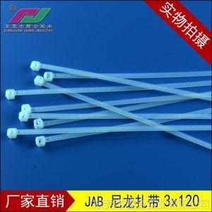供应厂家直销广东尼龙扎带3x120 超低价高品质 规格齐全 高耐磨束线带
