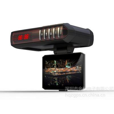 供应款环球者-巡航H5车载GPS行车记录仪加固定、流动拍照预警超强三合一