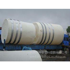 帝豪供应一次成型塑料储罐 滚塑储存罐 食品储存罐 浓缩液储罐 25吨