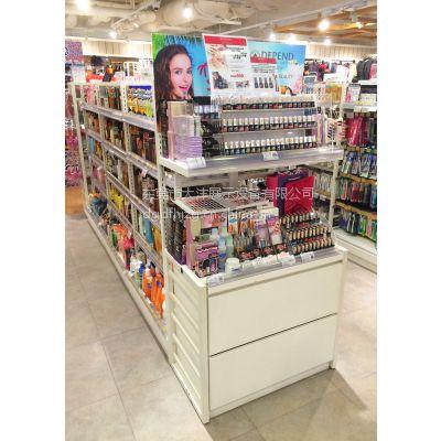 大沣DF-024精品超市货架化妆品展示柜