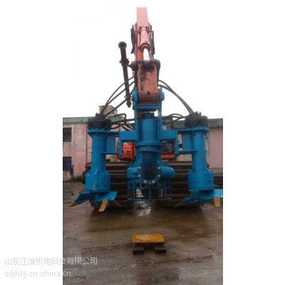 挖机清淤泵-液压污泥泵型号-水少防堵清淤泵价格