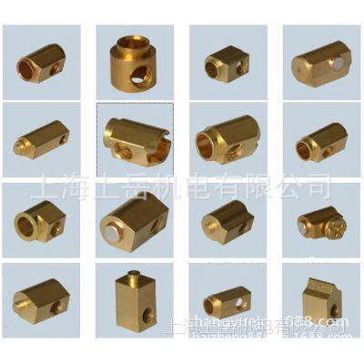 非标紧固连接件铜接线端子螺柱OEM外贸加工小型弹簧精密五金铜件