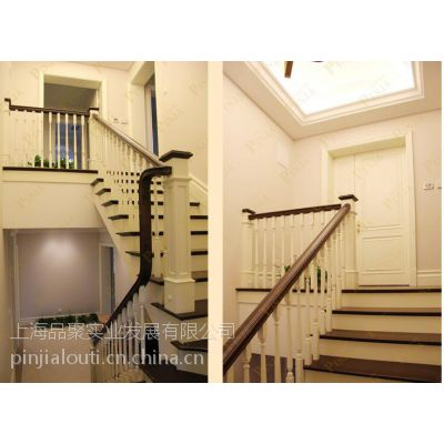 实木楼梯品家栏杆别墅楼梯橡木橡木别墅楼梯立大面积橡木平面图图片