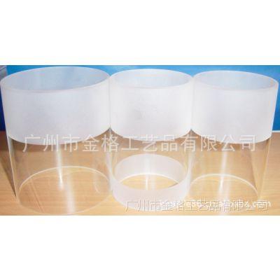 【广州金格】 供应优质防爆异形喷砂高硼硅玻璃管