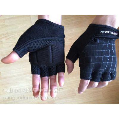 自行车手套半指 男女山地车骑行手套 半指健身运动手套