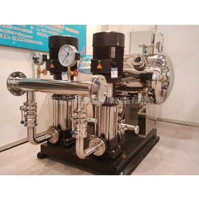 供应无负压供水设备山东鑫溢厂家 德州无负压供水设备选型方案